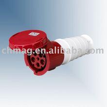 IP 67 waterproofing industrial socket/industrial plug and socket(5P,CCC,CE APPROVAL)