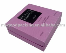 perfume packaging boxes,luxury leather perfume packaging box