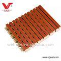 surco de madera panel acústico