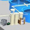 Industrial Fish Farm System