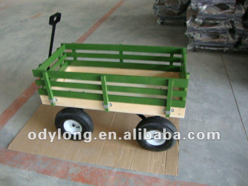 Azada azad n de madera vender carros de herramientas for Carros de madera para jardin