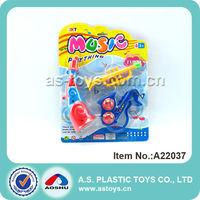 Plastic baby musical mini toy trumpet