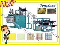 plastic numerical control warp and weft net machine