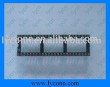2.54mm IC Socket Adapter Solder Type/Surface mount