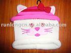 baby's knitted designer beanie hat