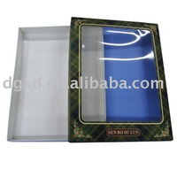 T-Shirt Paper Packaging window Boxes