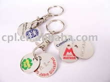 Metal Coin Key Chain