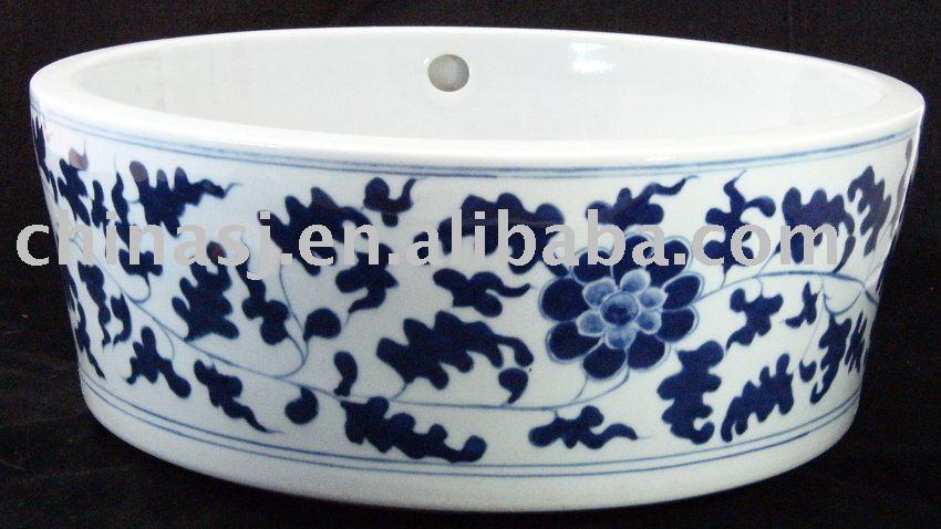 Floral Bathroom Sinks : White Floral Design Ceramic Bathroom Sink Wrybf207 - Buy Ceramic Sink ...