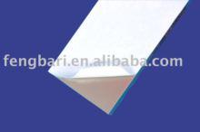 anti-uv aluminum window profile milky white protective film