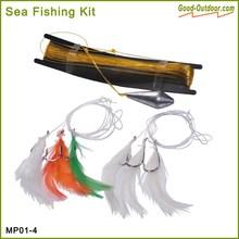 Lifeboat sea fishing kit