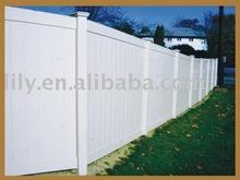 PVC Panel fence
