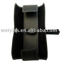 2012 new fashion leather pen bag pen case