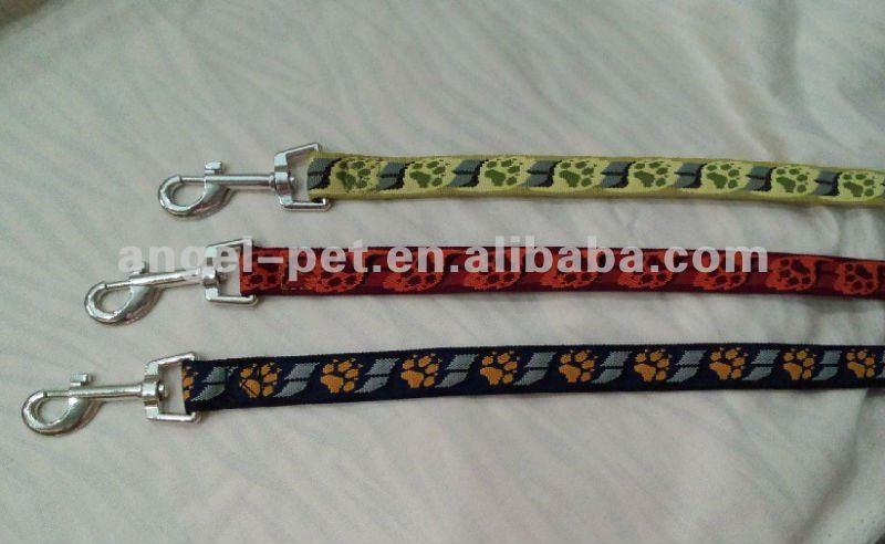 dog jacquard leash and collar