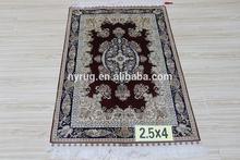 handmade art- silk carpets and rugs series