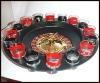 16 glasses shot drinking roulette set