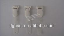 Badge holder PVC strap in white color