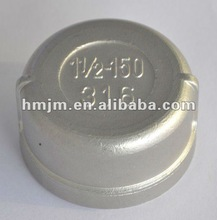 low price stainless steel threaded round cap F/F (CE approved)