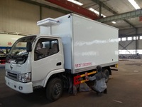 6 tons 4*2 cargo van truck,6 wheeler truck,cargo box truck