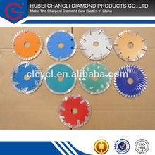 105mm 110mm 115mm Dry Cutting China Sharp Notch Diamond saw blades