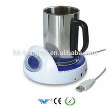 4-ports cup warmer coffee cup warmer tea USB 2.0 cup warmer