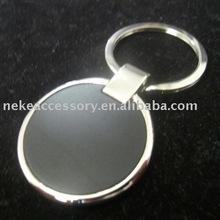 circle shaped key ring with customized logo