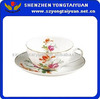 AB Grade porcelain tea & coffee cup and sauser