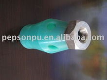 Molded Urethane Rubber Part