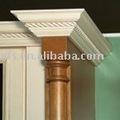 Antiguos de madera maciza pilar decorativo ( efs - 365 )