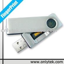 Swivel Fingerprint USB Drive