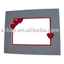 Branco para impressão moldura, 8 x 10 / matboard quadro