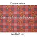 Rojo de pvc esteras del piso, estera de la espuma, no - skid zona de alfombras