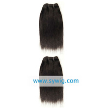 Chinese wholesale remy Yaki straight weaving hair extensions