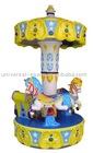 Angel Carousel Amusement Game and Kiddie Ride Machine