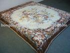 new designs Korean style polyester blanket / mink blanket / raschel blanket factory & whole saler