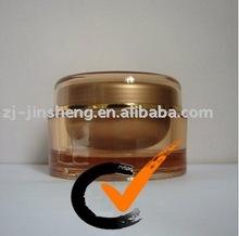 Cosmetic Plastic Nail Gel Jar 100ml gram Cases