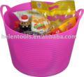 Balde casa, balde de recolha, gorila tubs, bacias de plástico