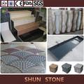 utilizado para el interior y la decoración al aire libre de granito natural