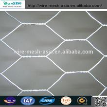 Best Selling Brazil Market Hot-dipped Galvanized After Weaving Zinc Coating :45g/m2 Hexagonal Wire Mesh