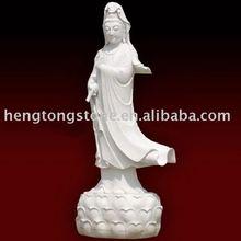 White Stone Carving Buddha