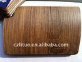 color de madera de película de pvc decorativos para el panel de muebles