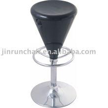 modern adjustable swivel ABS JR-6137bar stool