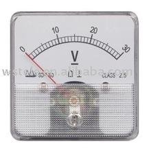 60 DC V Moving Iron Instrument meter
