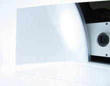 Digital X-ray machine optical coating filter