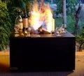 Etanol suqare pozo de fuego