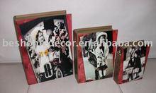 fashion gift box,popular book box,buy small wood box
