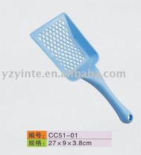 Plastic dog or pet scoop