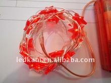 Led string light, christmas decorative lights, star shape