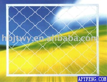 Al-Mg Alloy Wire Beautiful Grid Wire Mesh