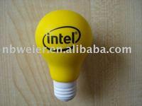 Promotion gifts anti stress Bulb 10.5x6cm