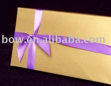 single side satin ribbon bows